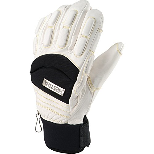 Hestra Vertical Cut Freeride Glove Off White, 10 by Hestra