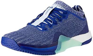 adidas WoMen's Crazytrain Elite Shoes, Mystery Ink/Footwear White/Aero Blue, 5.5 US (5.5 AU)