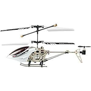 MOTA 6036 iPhone/iPad/iPod Remote Controlled RC Helicopter (Extreme Edition), White/Silver