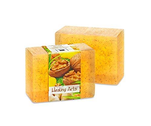 Vegetable Glycerin Bar Soap, Healing Arts, Single Bar, 4.5oz/127.5g each
