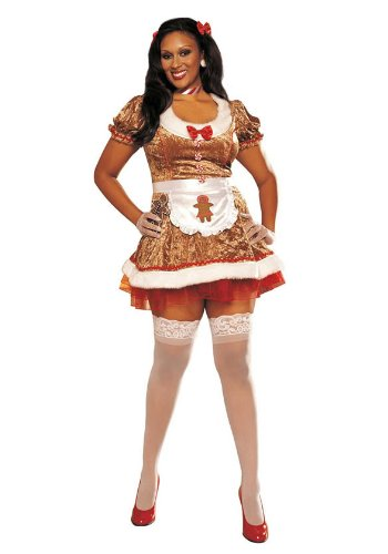 Womenu0027s Gingerbread Girl (Brunette;1X-2X) - Buy Online in UAE. | Apparel Products in the UAE - See Prices Reviews and Free Delivery in Dubai Abu Dhabi ...  sc 1 st  Desertcart : gingerbread costume for adults  - Germanpascual.Com