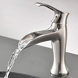 Brushed Br Bathroom Faucet | Bathroom Sink Faucet Brushed Nickel Do It Yourself Store