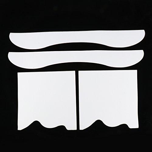 Perfk スケートボード アンチスキッド ステッカー サンドペーパー ロングボード デッキプロテクター 全4選択