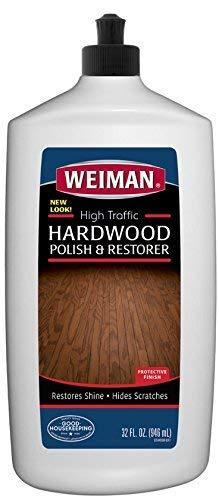 Weiman High-Traffic Hardwood Floor Polish and Restorer - Natural...