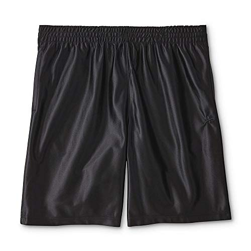 - Athletech Men's Big and Tall Performance Basketball Shorts (Black, 3XL, XXXL)