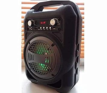 Bluetooth Speaker Portable Outdoor Wireless Speakers with USB//TF//Aux//FM Radio