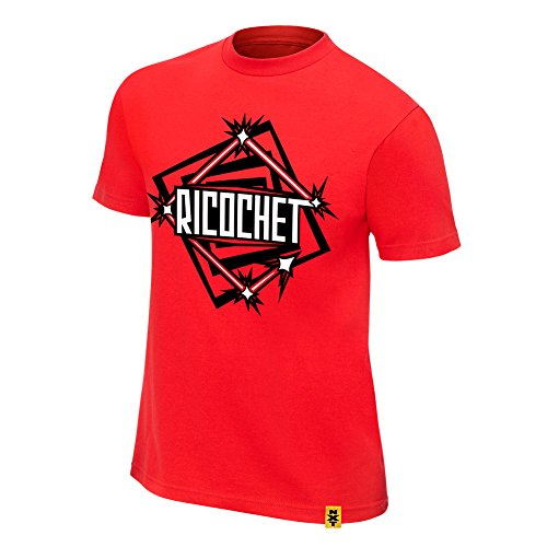 WWE Ricochet NXT T-Shirt Red Medium by WWE Authentic Wear