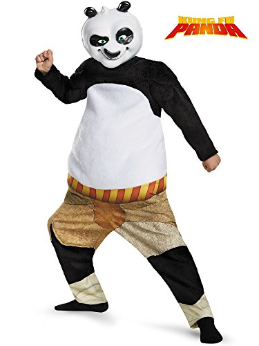 Disguise Panda-Po Deluxe/Muscle Costume, Medium