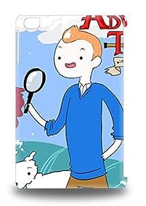 Flexible Tpu Back Case Cover For Ipad Mini/mini 2 France The Adventures Of Tintin