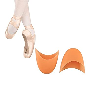 2PCS Ballet Silicone Gel Pointe Toe Cap Cover Soft Pads Professional Protector