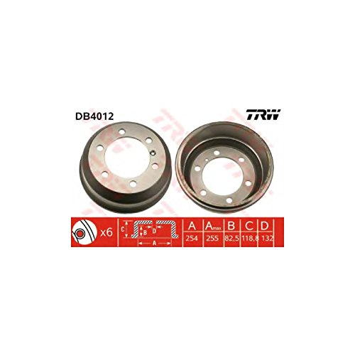 TRW DB4012 Brake Drums: