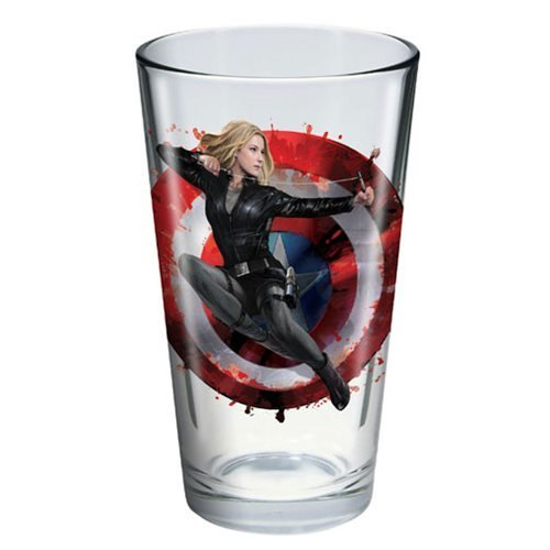 Captain America: Civil War Agent 13 Toon Tumbler Pint Glass