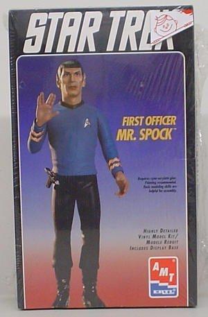 (STAR TREK FIRST OFFICER MR. SPOCK AMT/ERTL MODEL KIT by Star Trek)