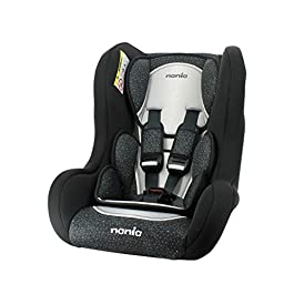 Child car seat Trio Grp 0/1/2 (0-25kg) with side protection – Skyline black – Made in France