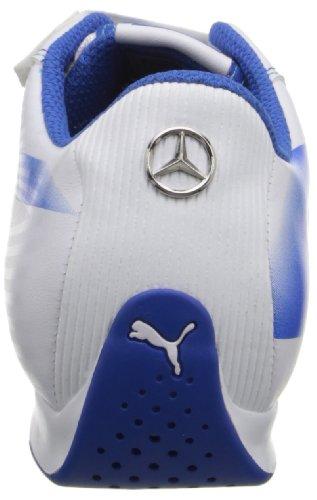 PUMA Mens evoSPEED Mercedes 1.2 Low NM Fashion Sneaker White/Silver/Victoria Blue R3Mg24n