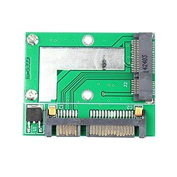 Febelle PCI-E - Disco Duro Mini mSATA SSD a SATA de 7 mm, 22 Pines ...