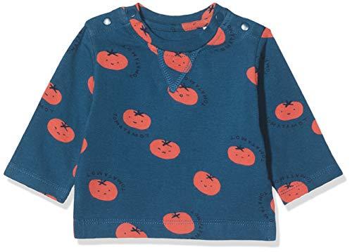 Imps&Elfs B Regular T-shirt ls Temba aop baby-jongens shirt met lange mouwen