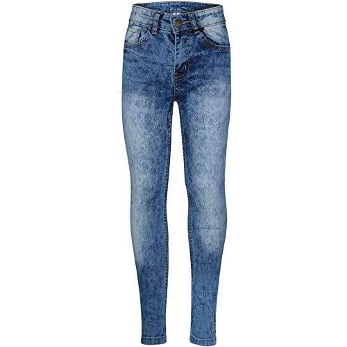A2Z 4 Kids® Kinderen Jorgens Rekbaar Jeans Ontwerper Denim Mager Fietsers Broek Jeans Leeftijd 5 6 7 8 9 10 11 12 13 14…