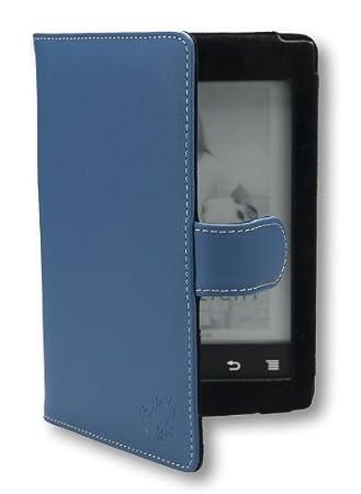 La funda Gecko Covers Sony PRS T2 de color azul para la eReader ...
