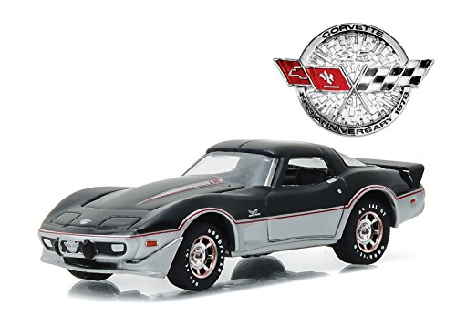 1978 Chevrolet Corvette 25th Anniversary Edition Anniversary Collection Series 4 1/64 by Greenlight 27890 C