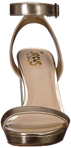 Gold Heeled Sandal Annette Circus Edelman Women's by Sam Molten xwxOqH8