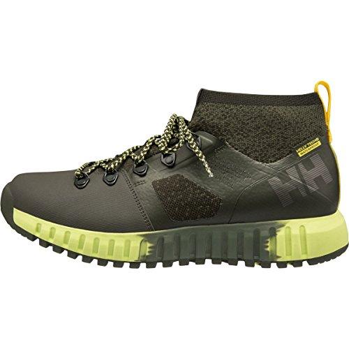Helly Hansen Vanir Canter Ht Zapatos de Cordones Oxford, Hombre, Verde (Verde 482), 41 EU