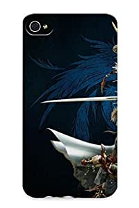 Durable Protector Case Cover With Dissidia Final Fantasy Hot Design For Iphone 4/4s (ideal Gift For Lovers)