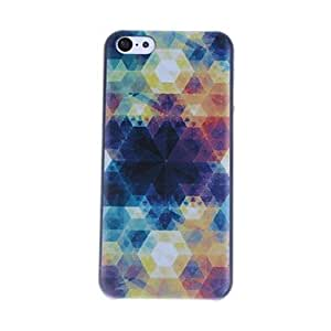 get Mysterious Hexagonal Pattern PC Hard Case for iPhone 5C