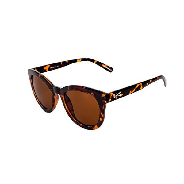 c5156c4acc361 J+S Felis Vintage Cat Eyes Polarized 100% UV Sunglasses for Women – Large