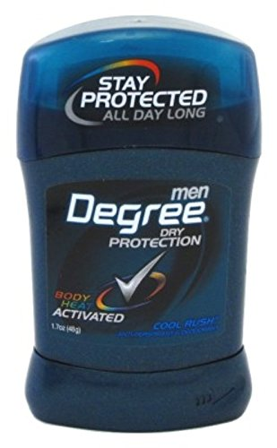 Degree Invisible Solid Deodorant - Cool Rush 1.7 ounce Six P