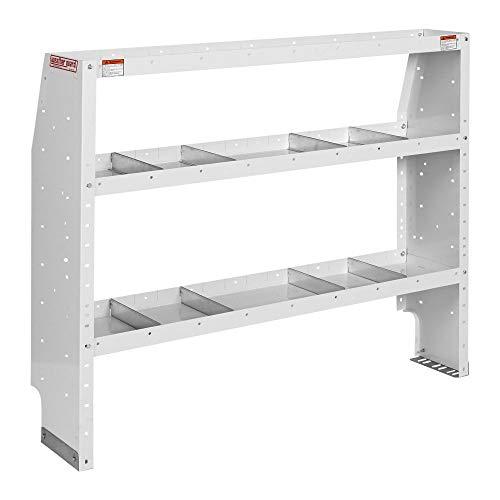 - Weatherguard Adjustable 3 Shelf Unit, 44in x 52in x 13.5in