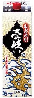 壱岐(25゜) 1800mlパック 麦焼酎