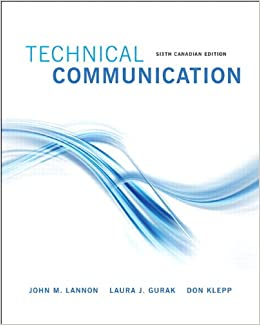 Technical Communications, Sixth Canadian Edition Plus NEW MyWritingLab with Pearson eText -- Access Card Package (6th Edition)