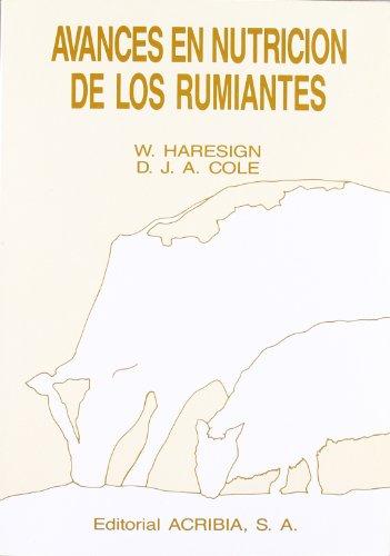 Descargar Libro Avances En Nutrición De Los Rumiantes W. Haresign