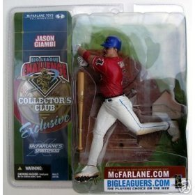 SportsPicks 2002 Mcfarlane Big League Challenge BLC Collector's Club Exclusive Jason Giambi ()
