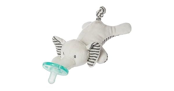 Amazon.com: Chupete con juguete suave Wubbanub, Elefante ...