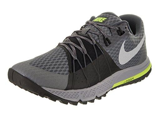 NIKE Men's Air Zoom Wildhorse 4 Dark Grey/Wolf Grey/Black Running Shoe 11 Men US by Nike
