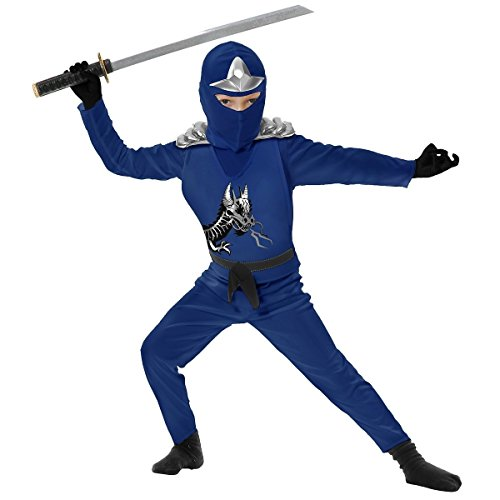Ninja Avenger II with Armor Costume - Small (Ninja Body Suits Armor)