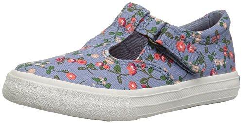 (Keds Girls' Daphne Sneaker, Ditzy Print, 11.5 M US Big Kid)