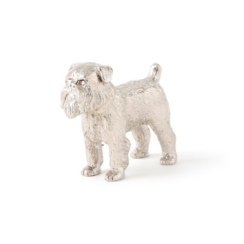 Griffon Ornaments (Brussels Griffon Made in UK Artistic Style Dog Figurine Collection)