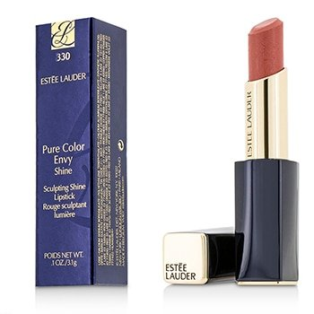 Estee Lauder Women's Pure Color Envy Shine Sculpting Lipstick, # 330 Boudoir Baby, 0.1 (0.1 Ounce Pure Lipstick)
