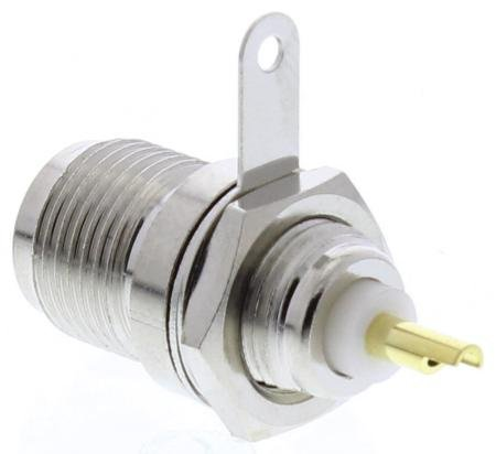 Chassis Mount/Chrome Tnc Type Female Connector With Headphones (Female Chassis Tnc)