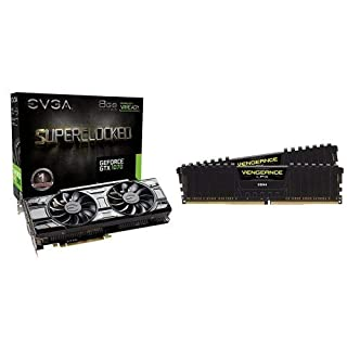 EVGA GeForce GTX 1070 SC GAMING ACX 3.0 Black Edition and Corsair Vengeance LPX 16GB (2x8GB) DDR4 DRAM 3000MHz C15 Desktop Memory Kit (B07HX7GHGJ) | Amazon price tracker / tracking, Amazon price history charts, Amazon price watches, Amazon price drop alerts