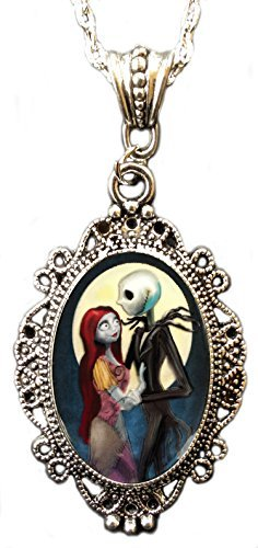 Sally From Nightmare Before Christmas (Alkemie Jack and Sally from Nightmare Before Christmas Cameo Pendant)