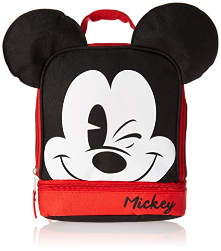 - GDC Disney Mickey Mouse Dual Lunch Kit, 1, Multi
