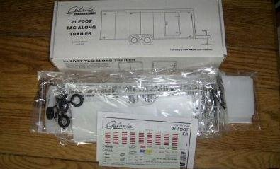 Tandem Two-Axle Tag-Along 21-Ft Trailer 1-24/1-25 Galaxie for sale  Delivered anywhere in USA