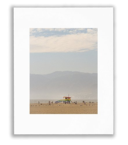 Venice Pride Lifeguard Tower Photo, Coastal Decor, Beach Art, 8X10 Matted Print (Fits 11X14 Frame)