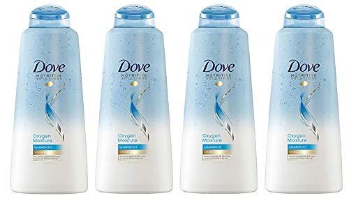 Dove Oxygen Moisture Shampoo, 20.4 Ounce, Pack of 4