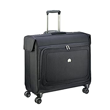 DELSEY Paris Cruise Lite Softside Spinner Trolley Garment Bag, BLACK