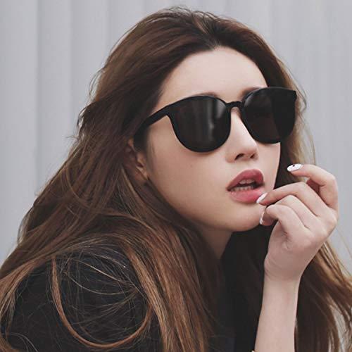 Anti Conducir señoras de Grandes UV para Salvaje de cuadradas Gafas Moda Uso polarizadas Sol IR la el Viajar presentes Negro señoras de de CJJC Las Compras wqOnAFBBx